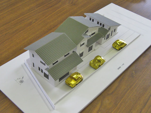 建築モデル作例