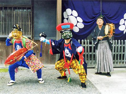 赤穂宝専寺恵比寿大黒舞