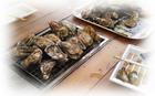 焼き牡蛎屋台 - 1