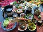松茸鱧と牛鍋の秋祭り御膳